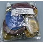 Gemstone Pendant Pack (10 pcs / Pack) - Style 1