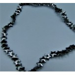 Magnetic Bead Strand - Star shape - 8x8mm