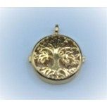 Designer Locket Cage - Gold plated Life of Tree Cage