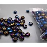 "Crystal Bead Pack - Electric Blue/Fuchsia (3"" x 2.5"" Zip Bag)"