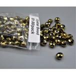 "Crystal Bead Pack - Gold (3"" x 2.5"" Zip Bag)"