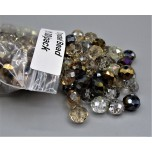 "Crystal Bead Pack - Mix Beads Style 1 (3"" x 2.5"" Zip Bag)"