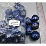 Irregular Shape Sphere - Lapis - 1 kg Pack