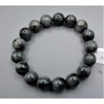 10-12 mm Gemstone Round Bead Bracelet - Eagle Eye
