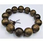 18 mm Ebony Heartwood Bracelet