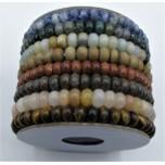 6 mm Gemstone Bead Bracelet Assorted Pack (8 pcs / Pack)