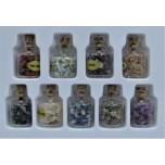 Gemstone Chip Bottles 9 piece pack