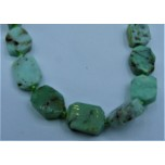 14 x 14 mm Gemstone Bead Strand - Chrysoprase