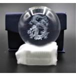 60 mm Crystal Sphere w Dragon