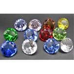 30 mm Crystal Diamond - Mix color 12 pcs Pack