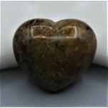 Large Gemstone Heart 1.75 Inch - Mookaite