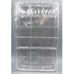 Plastic 18-place Divided Jewelry/Bead Box