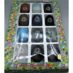 Gemstone Egg Mix Pack - 12 pieces pack (egg size 38mm x 50mm)