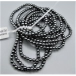 4 mm Hematite Bracelet - 10 pcs Pack