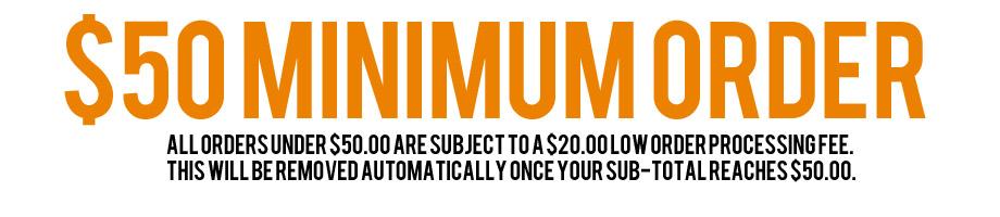Minimum Order!
