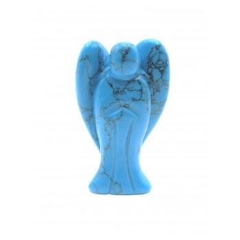 Angel 50mm Figurine - Howlite Turquoise bulk pack