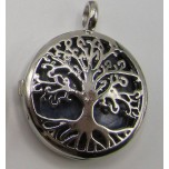 Caged Tree of Life Gemstone Pendant- assorted stones available!