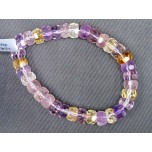 Faceted Gemstone Bead Bracelet - Several Stones Available!