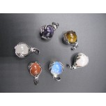 Gemstone Hands Pendant - Assorted Stones