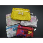 Double Zip Purse assorted colors