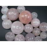 Gemstone Spheres in assorted sizes - 1 kg size - Rose Quartz