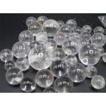 Gemstone Spheres in assorted sizes - 1/2 kg size - Clear Quartz