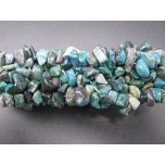 5 Strand Chip Bracelet - Chrysoccolla