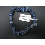 7 Inch Stretch Chip Bracelet - Kyanite