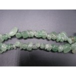 34-35 Inch Chip Necklace - Lepidocrocite Green