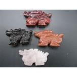 Dragon Classic 1.5 Inch Figurine - Assorted Stones