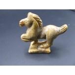 Horse (Mustang) 2.25 Inch Figurine - Picture Jasper