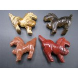 Horse Pacing 2.25 Inch Figurine - Assorted Stones