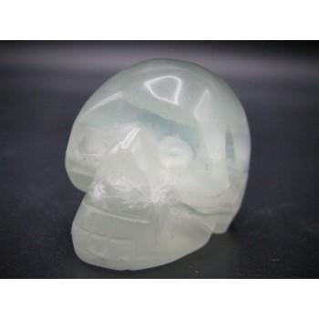 Skull 1.5 Inch Figurine - Fluorite