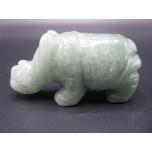 Rhino 2.25 Inch Figurine - Aventurine