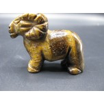 Ram 2.25 Inch Figurine - Tiger Eye