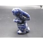 Rabbit (Hands Up) 2.25 Inch Figurine - Sodalite