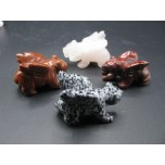Panther with Wings 1.5 Inch Figurine - Assorted Stones