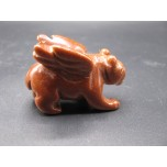 Panther with Wings 2.25 Inch Figurine - Goldstone