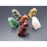 Otter Standing 1.5 Inch - Assorted Stones