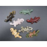 Lizard 1.5 Inch Figurine - Assorted Stones