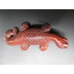 Lizard 2.25 Inch Figurine - Rainbow Jasper