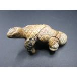 Lizard Climbing 2.25 Inch Figurine - Picture Jasper