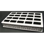 Plastic 20-place Ring Display Box