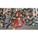 Mini-Rose Bracelet - 3pc Bundle - Assorted Colors Available!