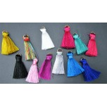 Mini Silky Tassel -Set of 4 Pieces Several Colors Available!