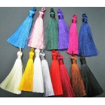 Silky Tassel -Set of 2 Pieces Several Colors Available