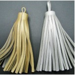 Leather Tassel - Silver or Gold Available