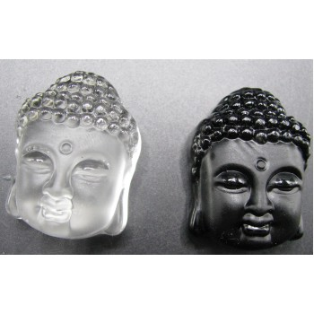 Crystal Buddha Head Pendant - Two Styles available