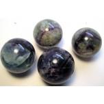 Gemstone Sphere - Fluorite -Style 2
