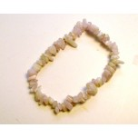 7 Inch Stretch Chip Bracelet - Kunzite
